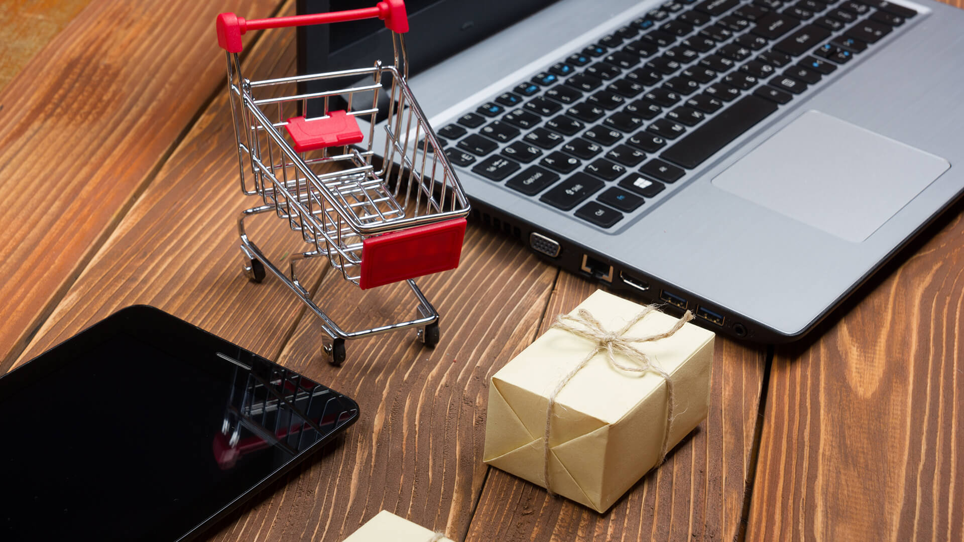 Open an online store