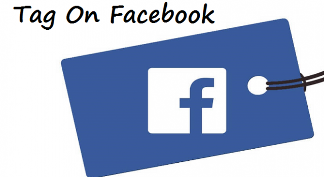 how to tag a page on facebook